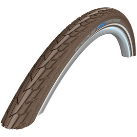 "SCHWALBE Road Cruiser Wired-on Tire 28"" K-Guard Active Reflex coffee"